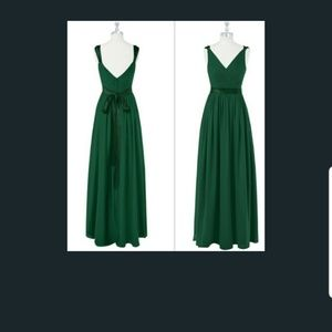 Dark Green Bridesmaid Dress (Customized)